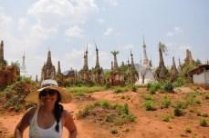 Pagodas at Indein