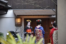 Got to see some Geishas!