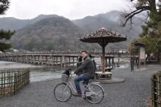 The bridge and bike