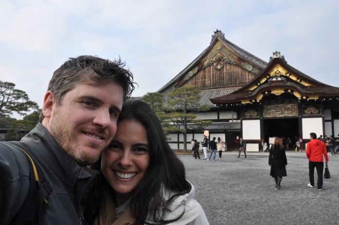 The main hall at Nijo Castle