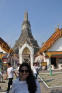 The entrance to Wat Arun