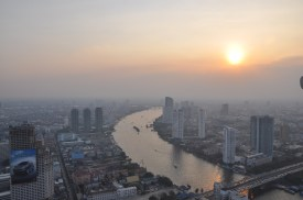 Bangko Sunset from the Dome