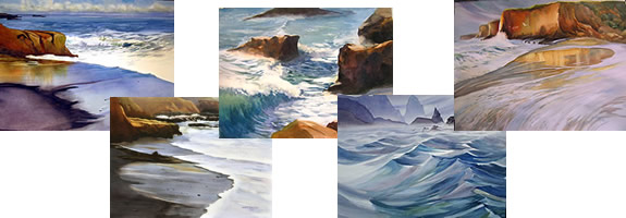 Watercolor: Seascapes