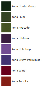 Backyard - French Color Palettes - Kona colors - Me Being Crafty