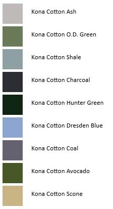 Kona Color Palettes Northern Ireland Castle