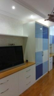 фотография детской мебели в синих тонах 4