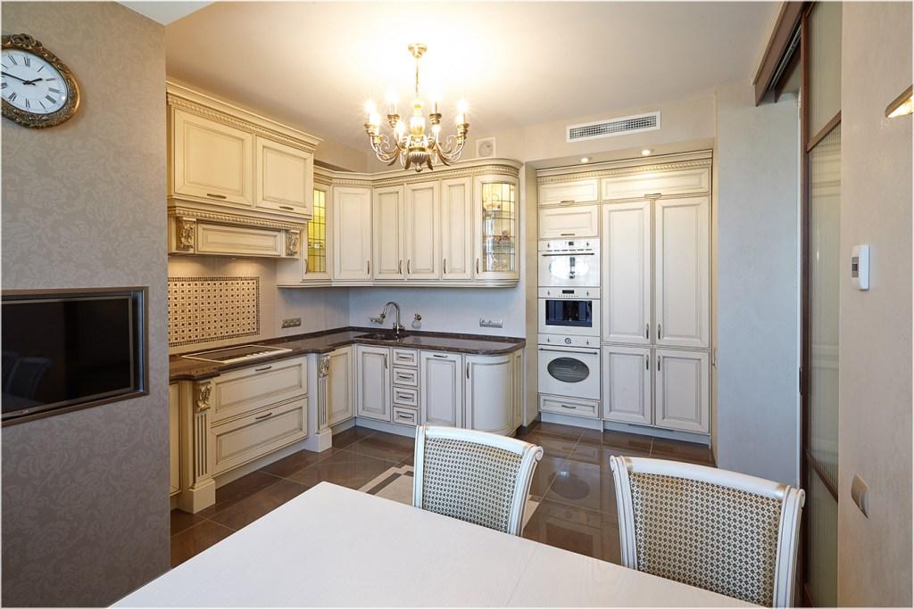 Кухня 14 в классическом стиле фото 1
