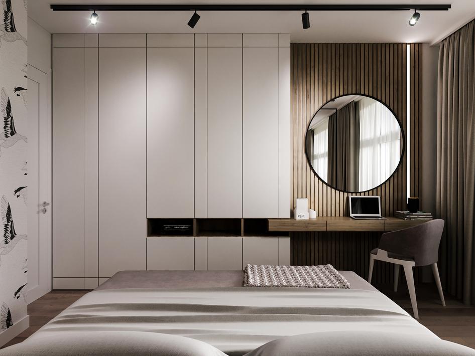 Спальня Tyler - готовый проект №5