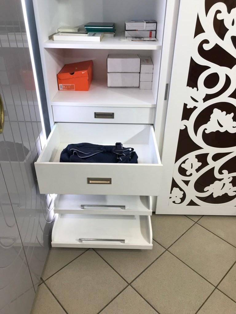 Шкаф белый с фрезеровкой IMG_3611 Распродажа мебели в Люберцах