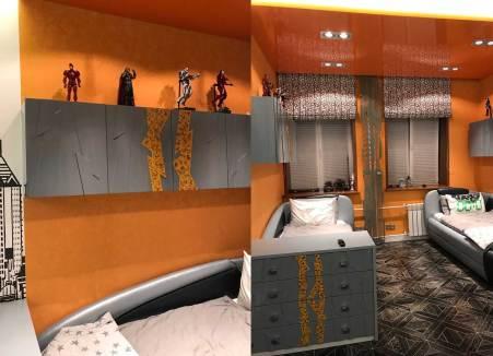 Пример 3D фасадов из МДФ