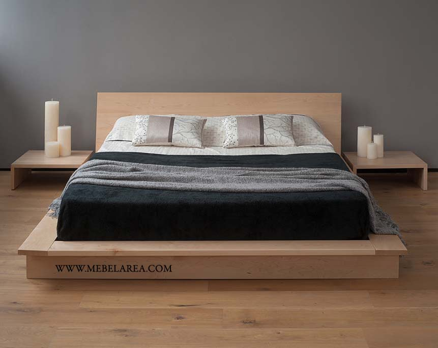Model Terbaru Tempat Tidur Minimalis Modern Jati