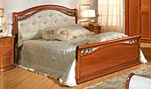 Кровать 160х200 Кожа