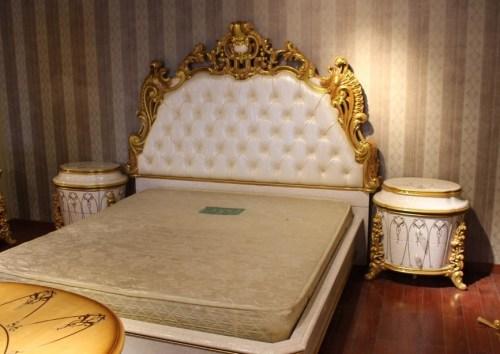Спальный гарнитур Клеопатра 3901W фабрика Fanbel