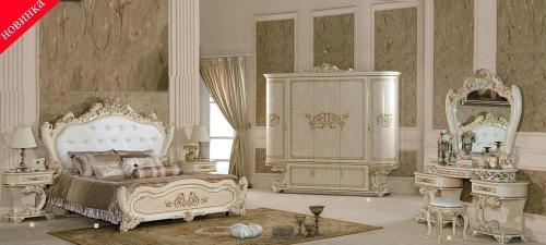 Спальный гарнитур Принцесса 3829 - Спальни