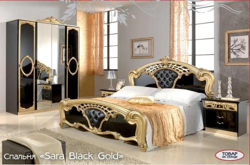 Спальный гарнитур SARA gold - Спальни