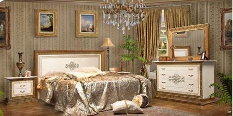 Спальный гарнитур Верона фабрика РосМебель (СКФМ)