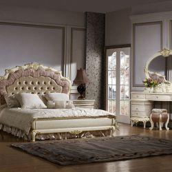 Спальня ЛУИЗА LUIZA K02, c 4-дверным шкафом, слоновая кость