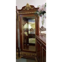 Витрина 1-но дверная, (левая, правая), Монарх, орех