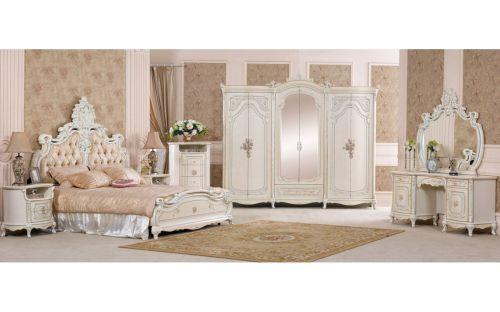 Спальня КОРОЛЕВА KOROLEVA 3876, слоновая кость