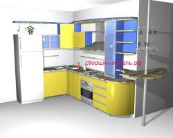 проект кухни на заказ