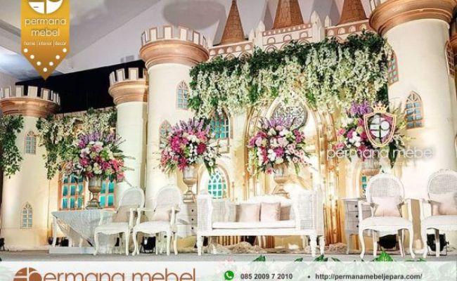Jual Dekorasi Pernikahan Istana Mewah Modern Karet Terbaru