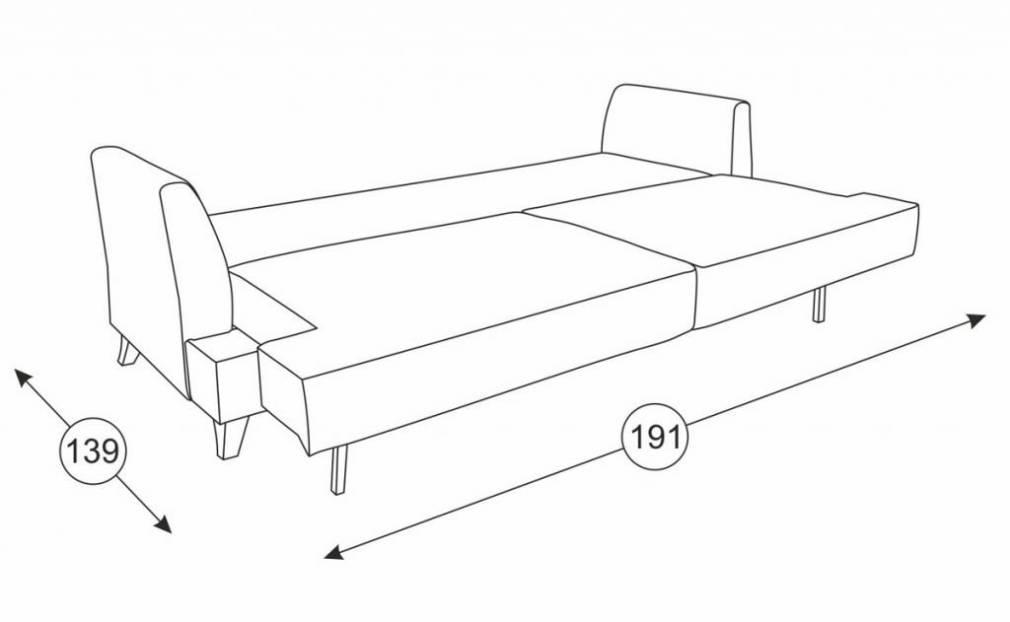 Дамаск диван (разные расцветки) купить по низкой цене