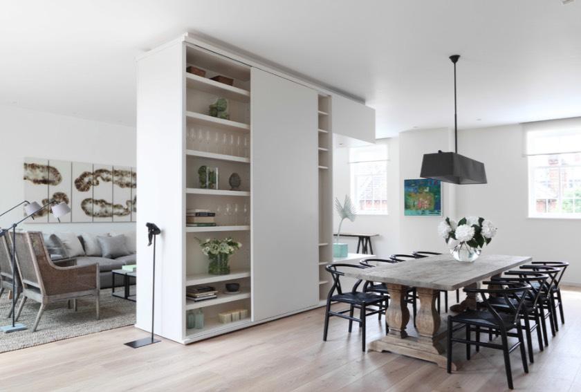 Partisi Ruangan Livingroom & Diningroom Mebelux