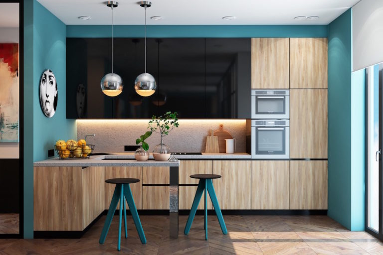 Teal-kitchen-decor-mebelux