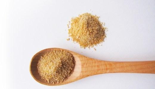 ブラウンシュガーとは?砂糖の種類や代用についてご紹介!【グラニュー糖・上白糖・三温糖・黒糖・きび糖】