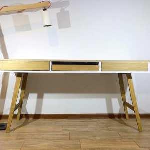 masywne biurko dębowe oslo