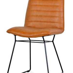 krzesło do jadalni brązowe