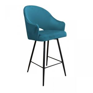 krzesło hokerowe niebieskie roma