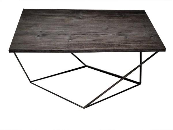 stolik kawowy industrialny grey