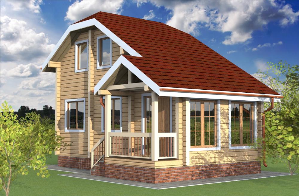 Загородное строительство домов.