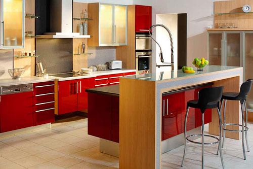 Барная стойка на небольшой кухне