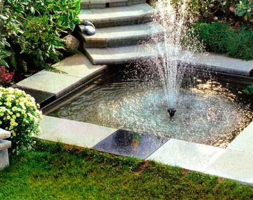 Внешний вид фонтана зависит от вашей фантазии и финансовых возможностей