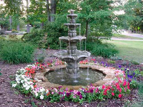 Выбор фонтана - трудная задача, так как их видов достаточно много