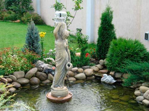 Важно определиться не только с видом фонтана, но и с его технической частью