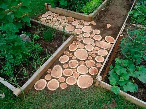 Как и из чего сделать садовые дорожки