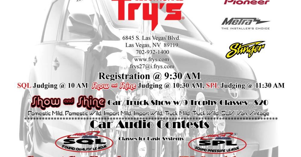Frys Loud Proud Show Sale LV NV MECA Mobile - Meca car show