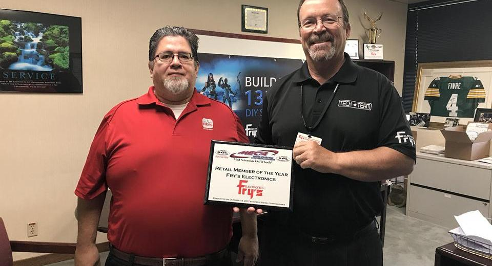 Fry's Electronics 2017 Retail Member of the Year