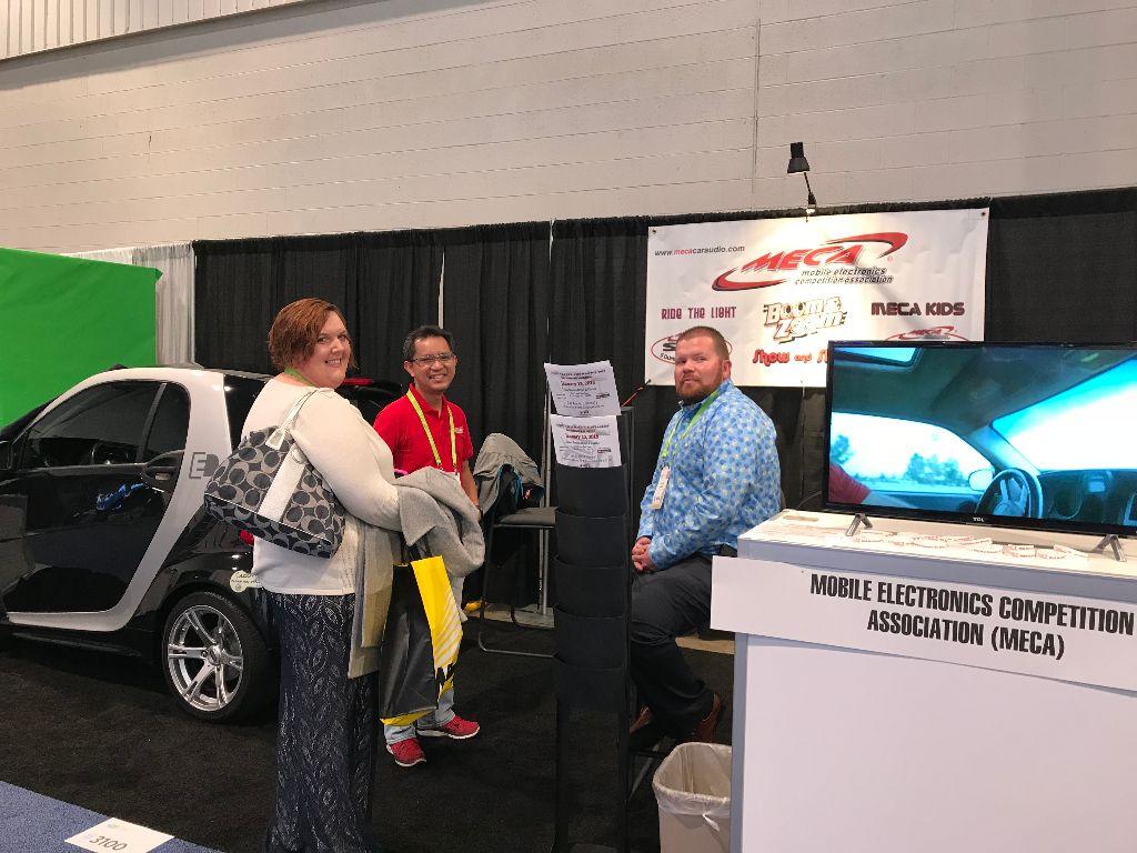 Steve Stern Page MECA Mobile Electronics Competition Association - Meca car show