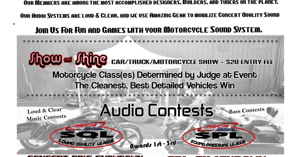 MECA's Motorcycle Contests