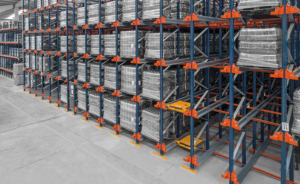 pallet shuttle capacity and