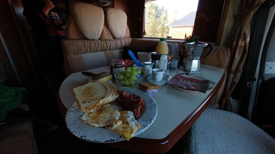 ...en mastig frukost.