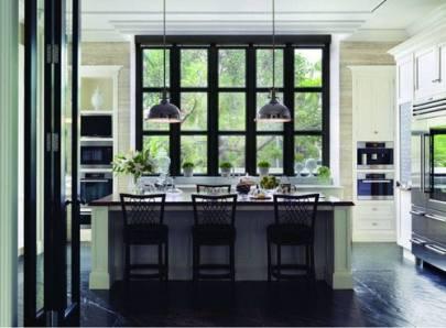 non-white window frames | @mecicinteriors | design bites