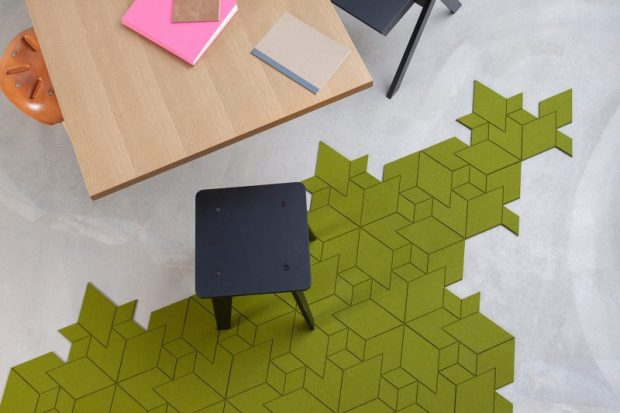 free form carpet tiles | @meccinteriors | design bites