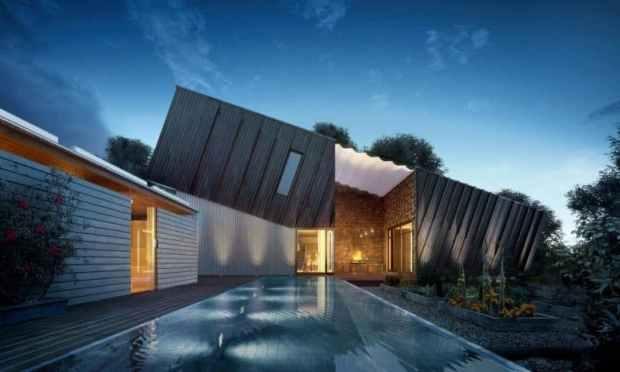 Zero Energy Plus House Larvik Mecc Interiors Inc