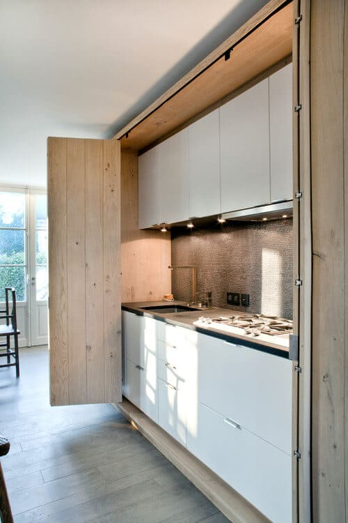 Hidden Kitchens For A More Streamlined Home | @meccinteriors | Design Bites