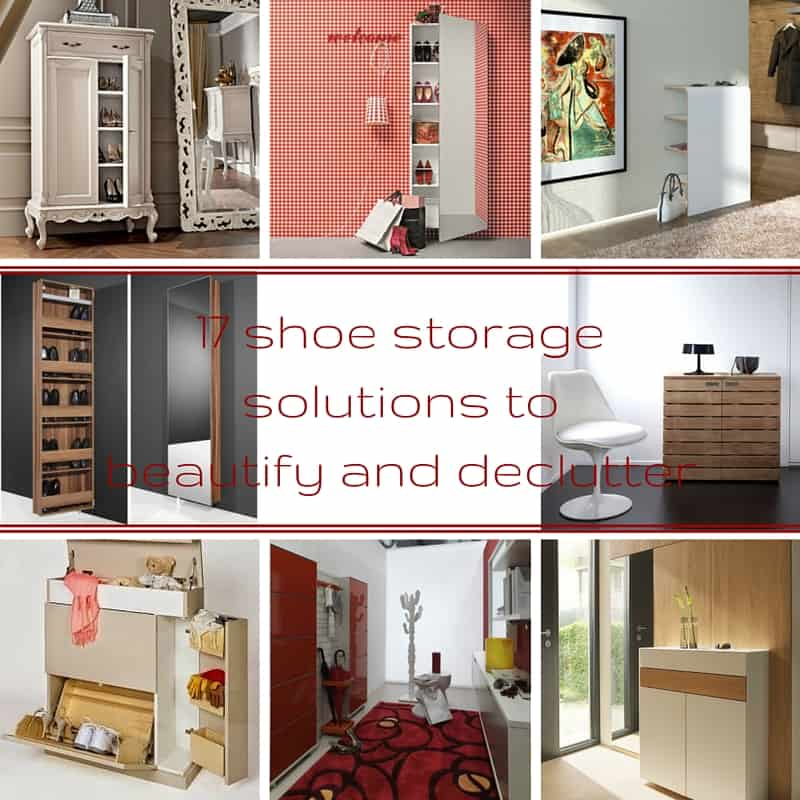 17 shoe storage solutions to beautify and